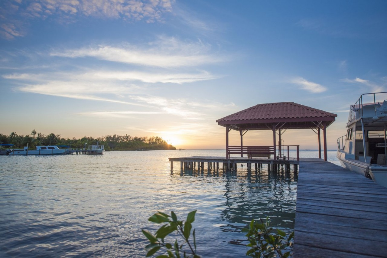 Beautiful Sunsets at St. George's Caye Resort
