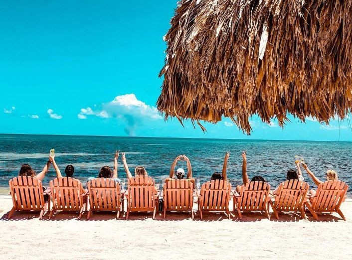 Girls-Getaway-to-St.-Georges-Caye-Resort-Belize-Relaxation