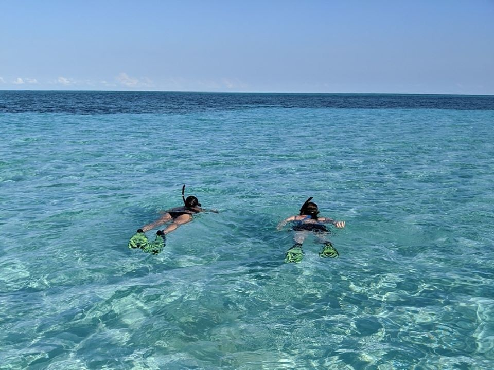 Snorkel-in-the-Caribbean-Sea---St.-Georges-Caye-Resort-Belize