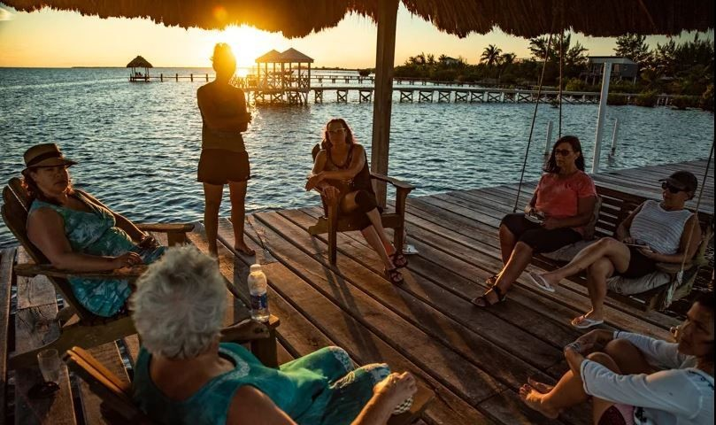 Retreat---Group---St.-Georges-Caye-Resort-Belize