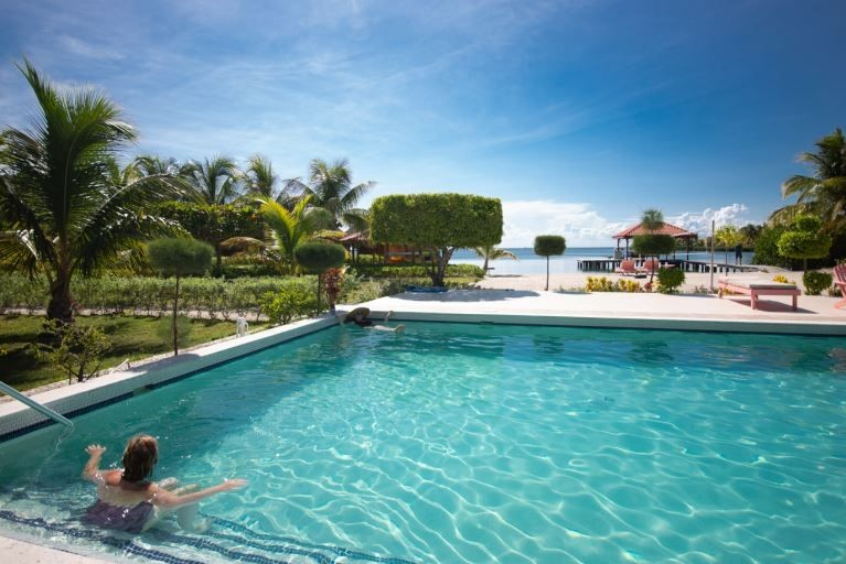 Fun-in-the-Sun---Poolside---St.-Georges-Caye-Resort-Belize
