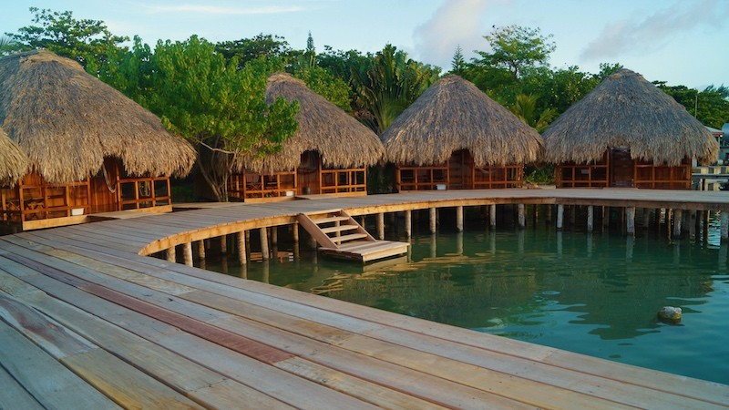 Is there a difference between an overwater cabana and an over-the-water bungalow?